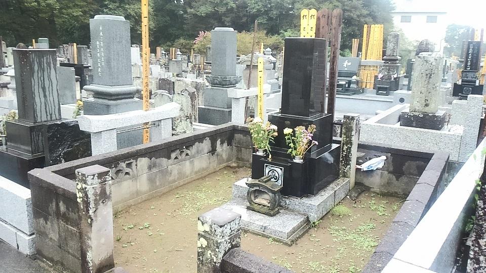 改葬「石碑の移設事例(2)」