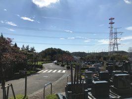 お参りの方「東京多摩霊園に決めた理由」